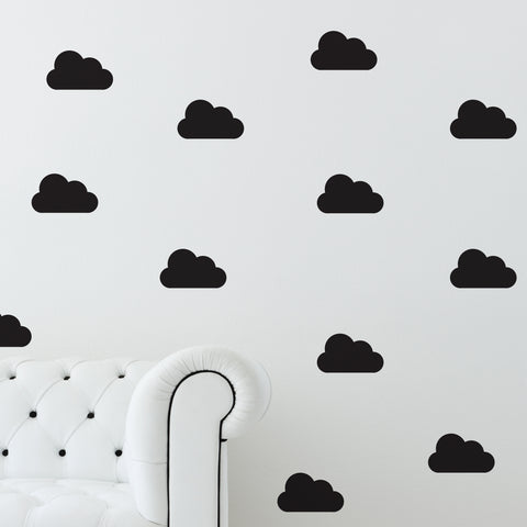 Mini Clouds // Wall Decals - Twelve9 Printing