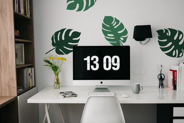 Monstera // Wall Decals - Twelve9 Printing
