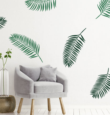 Palm Leaf // Wall Decal - Twelve9 Printing