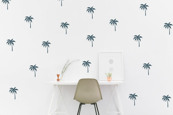 Palm Tree // Wall Decals - Twelve9 Printing