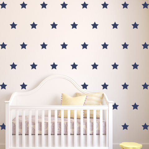 "3"" Mini Stars // Wall Decals - Twelve9 Printing"