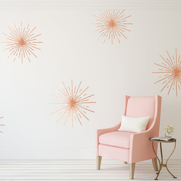 Starbursts // Wall Decals