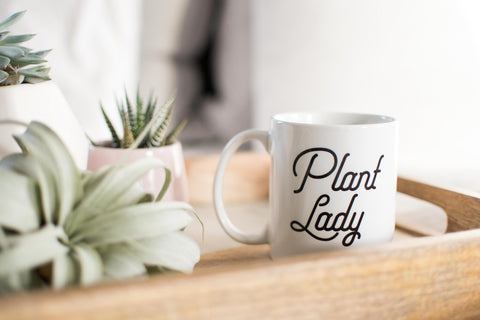 Plant Lady // Coffee Mug - Twelve9 Printing