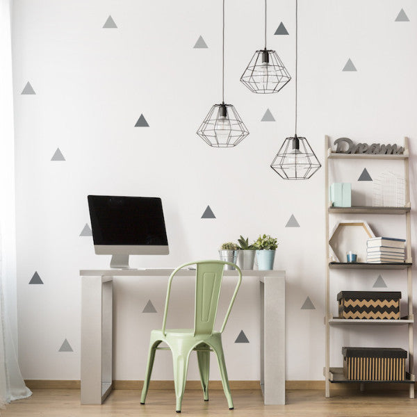 Mini Triangles // Wall Decal - Twelve9 Printing