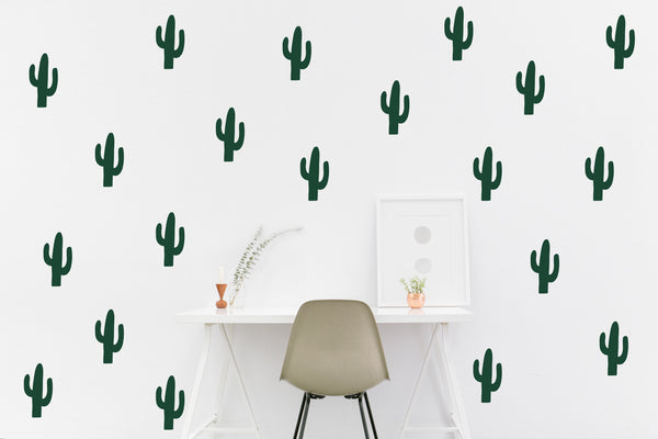 Cactus // Wall Decals - Twelve9 Printing