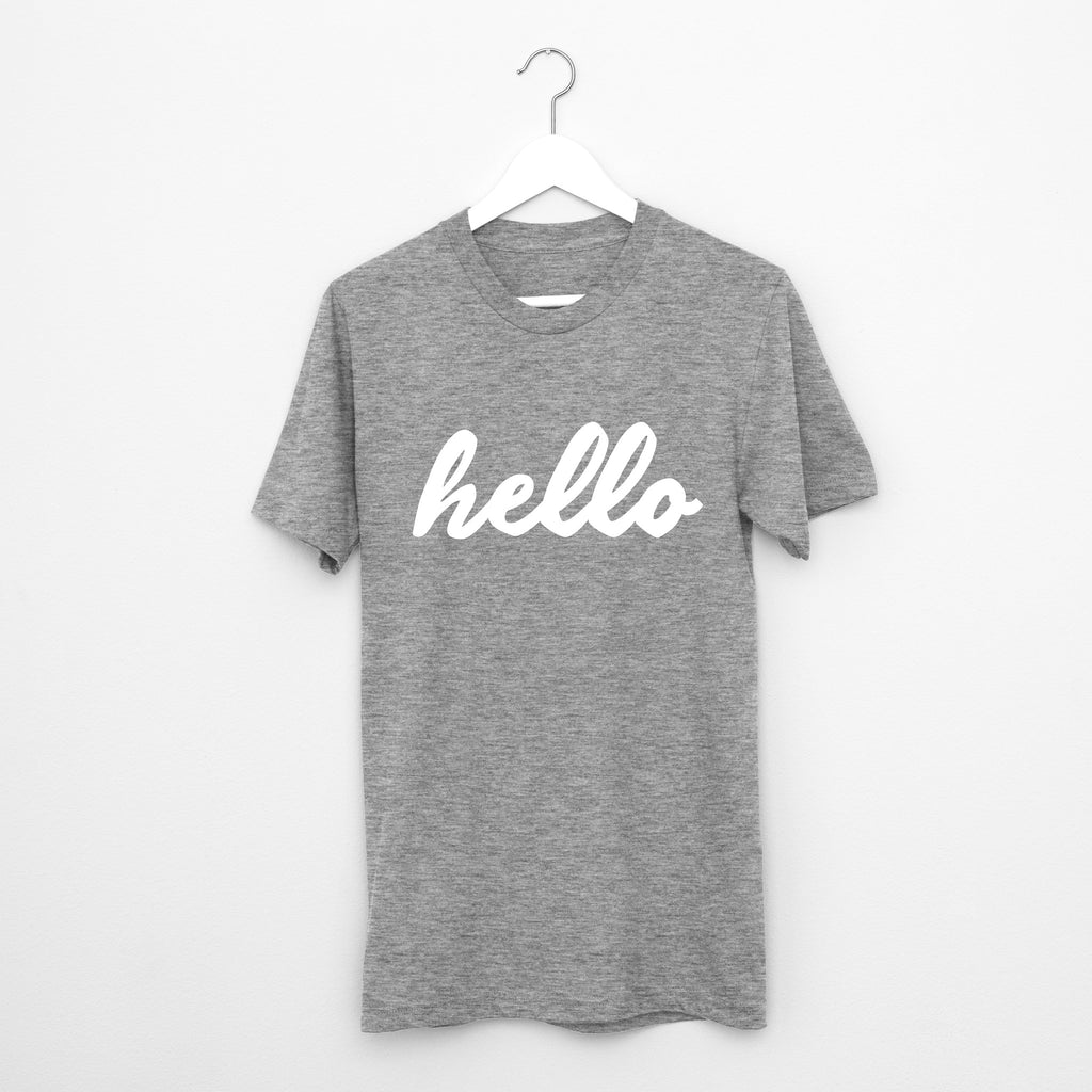 Hello // Short Sleeve - Twelve9 Printing