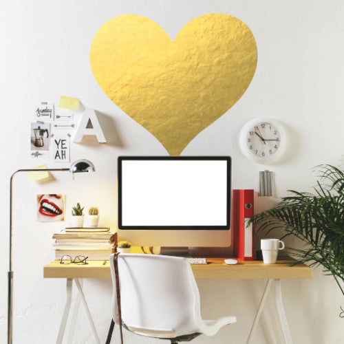 Big Heart // Wall Decal - Twelve9 Printing