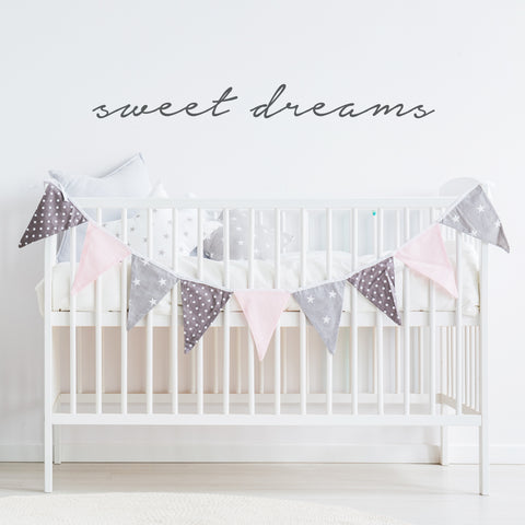 Sweet Dreams // Wall Decals - Twelve9 Printing