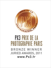 PX3 Prix de la Photographie Paris winner badge