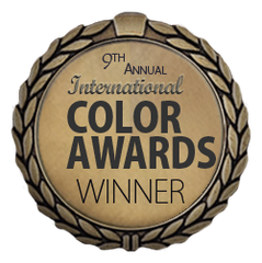 International Color Awards winner badge