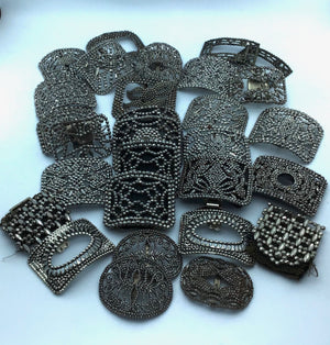 CUT STEEL BUCKLES