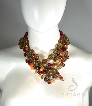 ACORNACOPIA OOAK STATEMENT NECKLACE Necklace