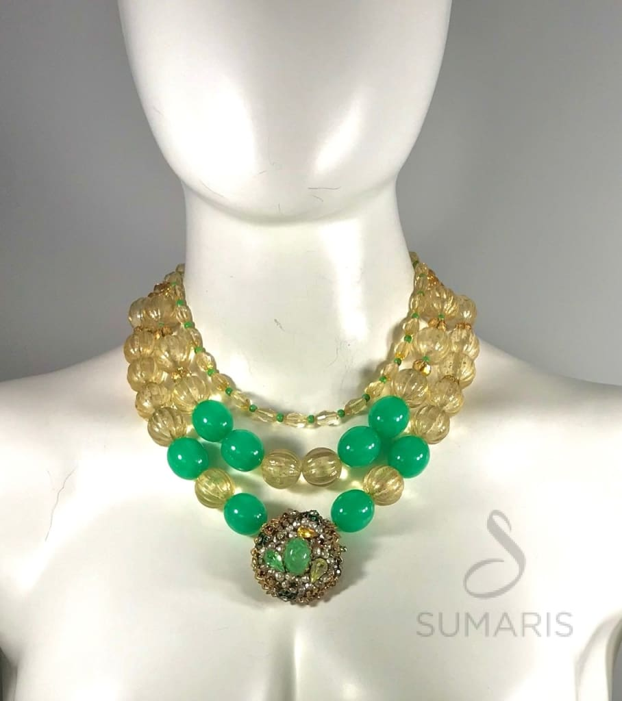 STATEMENT NECKLACE BAUBLED