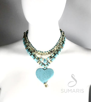 BEAT OOAK STATEMENT NECKLACE Necklace