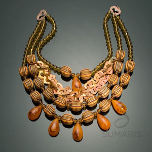 Caramel Necklace Sumaris Array Necklaces Sumaris Caramel Caramel