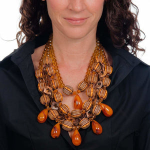 CARAMEL Necklace Sumaris Array Costume Jewelry Necklaces $250.00 Sumaris