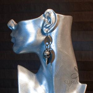 Carrion Earrings Sumaris Black / Grey Earrings New Designs Sumaris Carrion Carrion