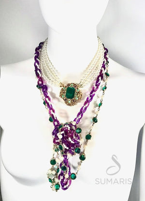 CELEBRATION OOAK STATEMENT NECKLACE Necklace
