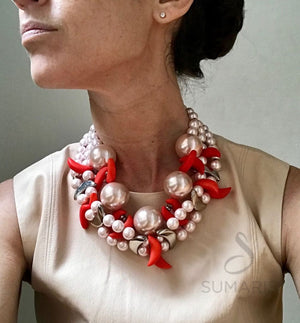 CLAWED - OOAK STATEMENT NECKLACE
