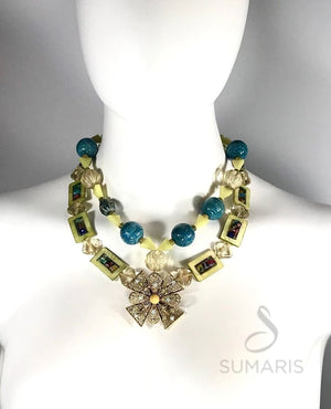 CLOISTER OOAK STATEMENT NECKLACE Necklace