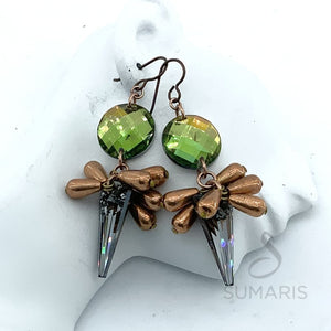 COPPER DANGLES LIMITED EDITION EARRINGS
