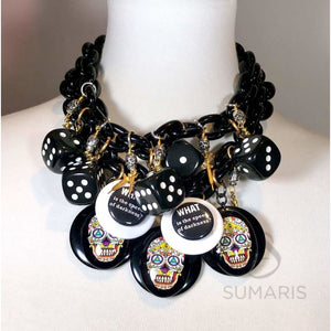 STATEMENT NECKLACE DARKNESS