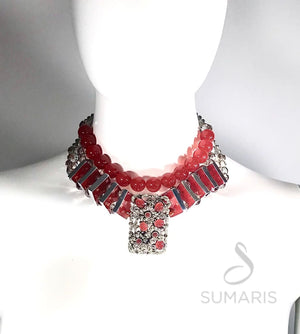 DECO FLING OOAK STATEMENT NECKLACE Necklace
