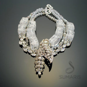 STATEMENT NECKLACE DIAMONDS & ICE