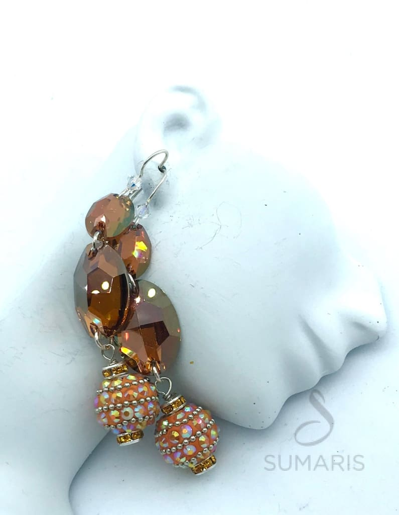 DISCO BALLS OOAK STATEMENT EARRINGS Earrings