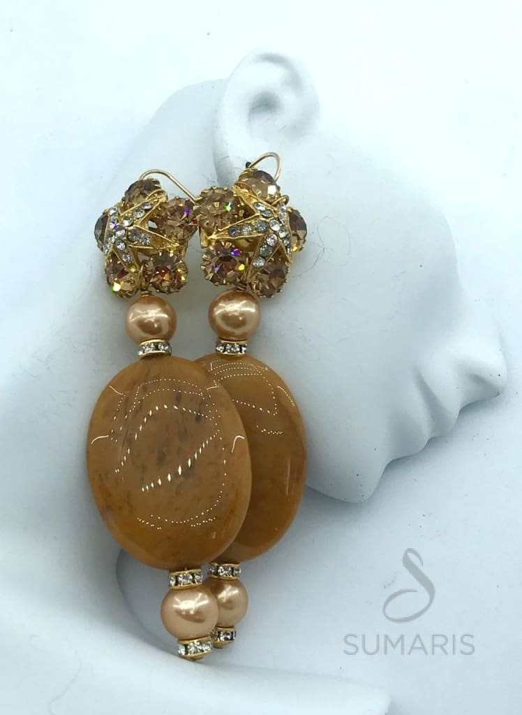 ELEGANCE OOAK STATEMENT EARRINGS Earrings