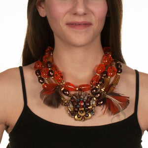FLIGHT OOAK STATEMENT NECKLACE Necklace