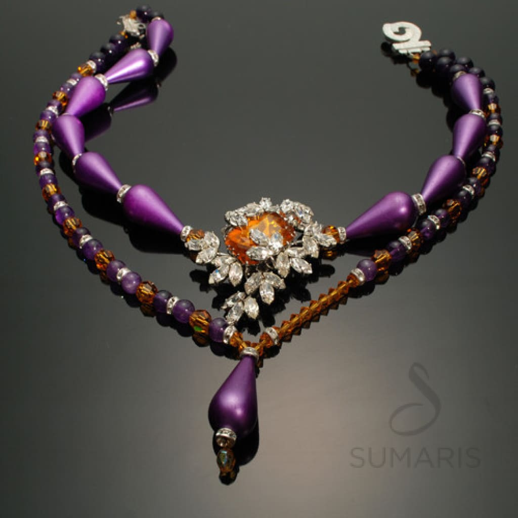 GGs Plumeria Necklace Sumaris Array hidden Necklaces Sumaris GGs Plumeria GGs Plumeria