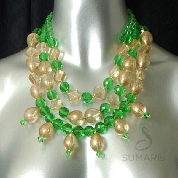 Ginger Ale Necklace Sumaris Green hidden Necklaces Sumaris Ginger Ale Ginger Ale