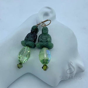GREEN PEACE LIMITED EDITION EARRINGS