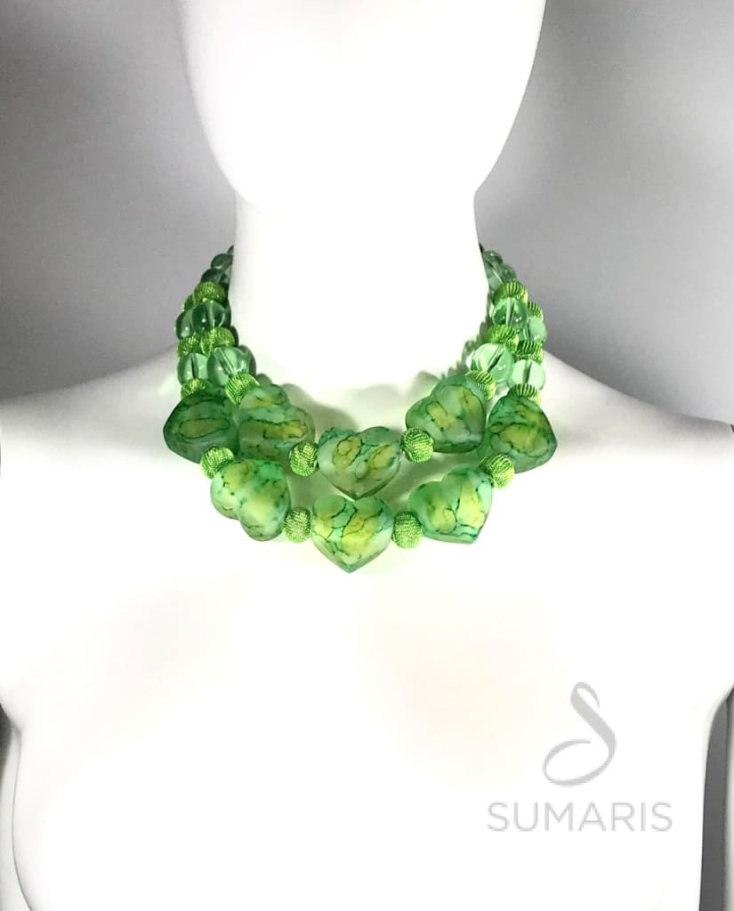 Greenhearts Necklace