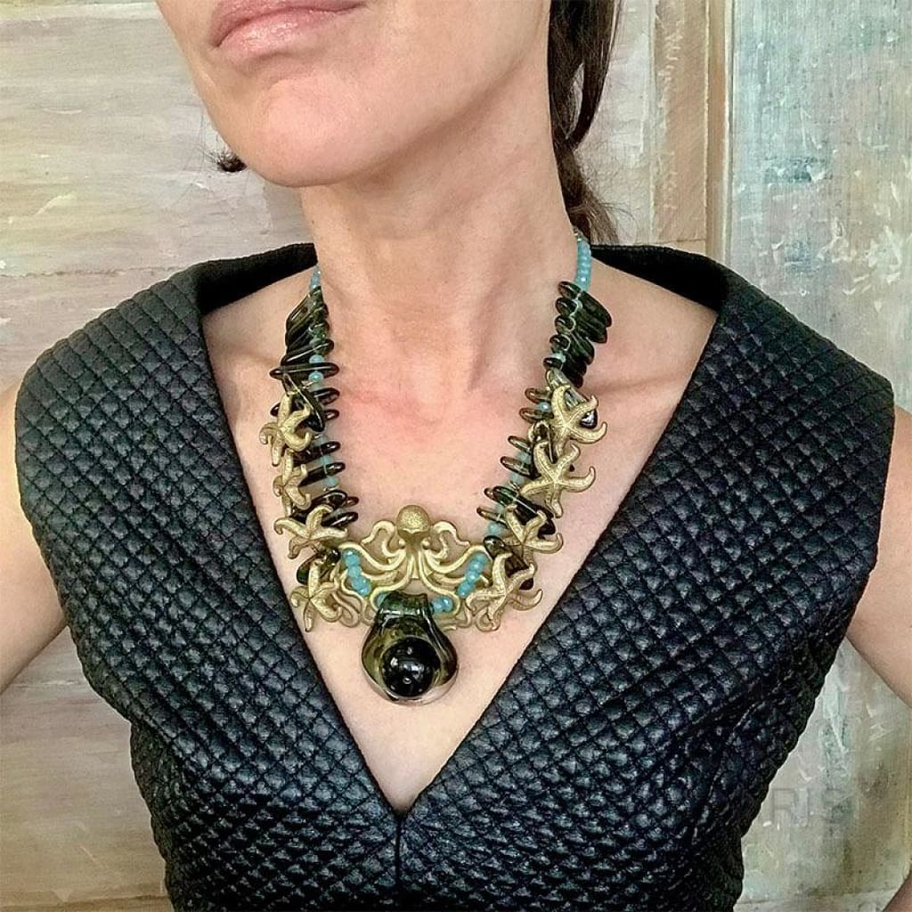 HARMONY OOAK STATEMENT NECKLACE