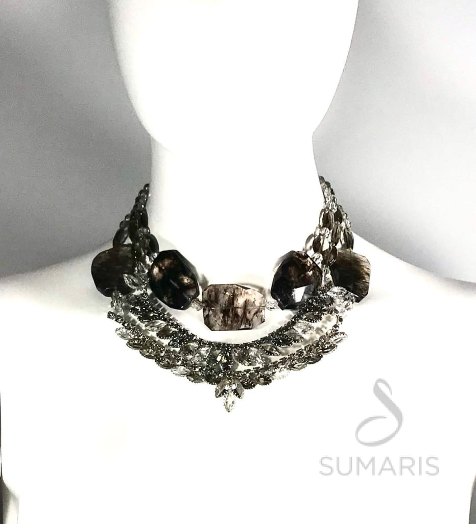 HAZE OOAK STATEMENT NECKLACE Necklace