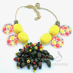 HESS FANTASY OOAK STATEMENT NECKLACE