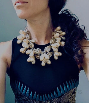 HONOLULU OOAK STATEMENT NECKLACE