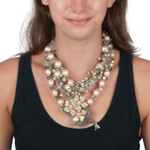 LADY JANE - OOAK STATEMENT NECKLACE Necklace