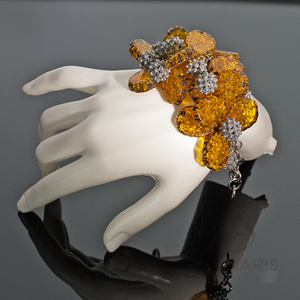 LIGHT SHOW Bracelets SUMARIS | NEW YORK Amber / Brown Bracelets Costume Jewelry $150.00 SUMARIS | NEW YORK