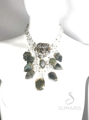 LOVERS OOAK STATEMENT NECKLACE Necklace