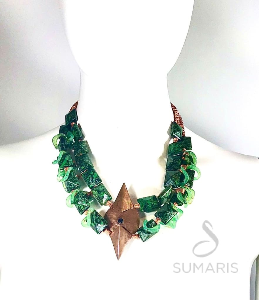 LUCES GREEN Necklace