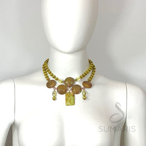 MADERA OOAK STATEMENT NECKLACE