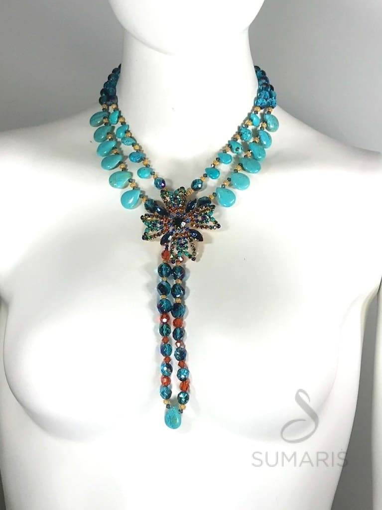MALTESA OOAK STATEMENT NECKLACE Necklace