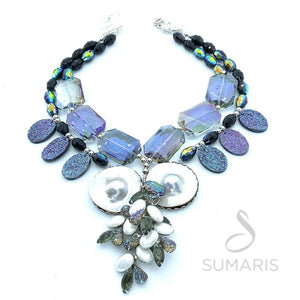 OF THE SEA OOAK STATEMENT NECKLACE