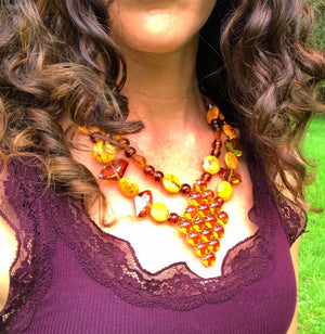 Orangeade Necklace