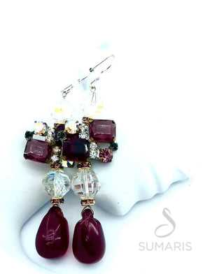 PLUMS OOAK STATEMENT EARRINGS Earrings