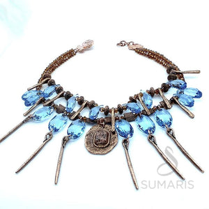 PRIESTESS OOAK STATEMENT NECKLACE