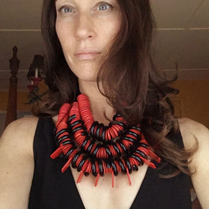 RED SPRING Necklace